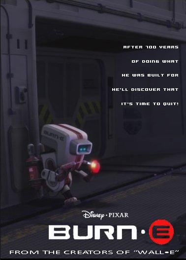 Mas cortos de pixar Burn-e